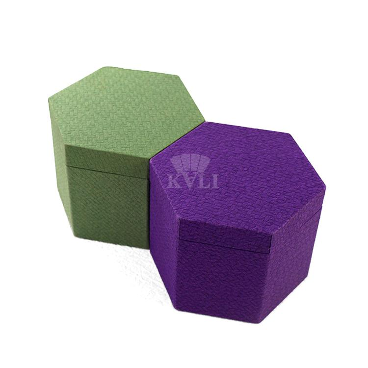 Rigid Hexagonal Gift Box
