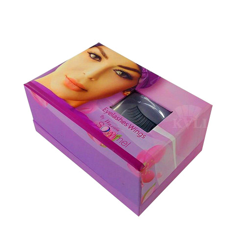 Violet Eyelash Box Supplier