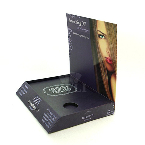 hair smoothing oil display box supplier
