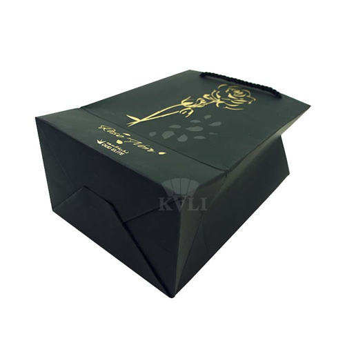 luxury soft touch paper bag supplier