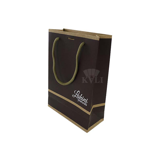 high quality brown paper woven bag