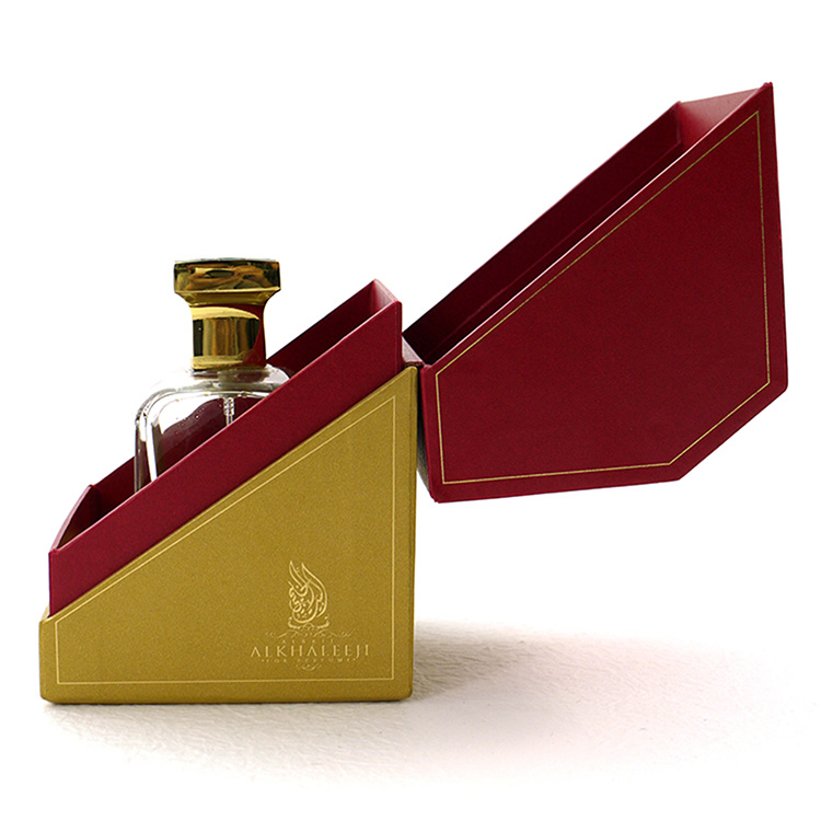 Flip Top Perfume Bottle Box