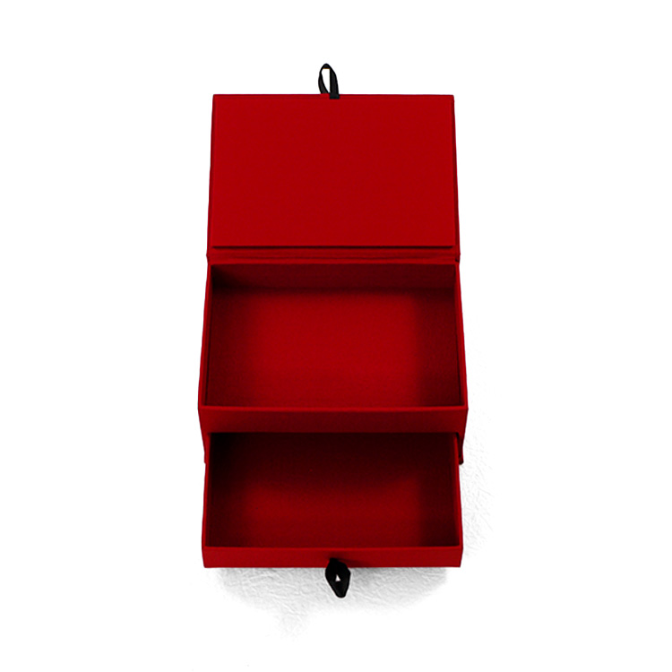 double layer paper cosmetic storage box maker