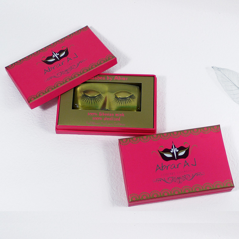 Wholesale Pink Eyelash Box
