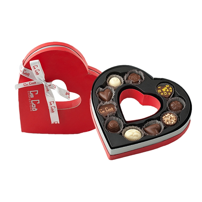 Heart Shape Empty Chocolate Box Wholesale