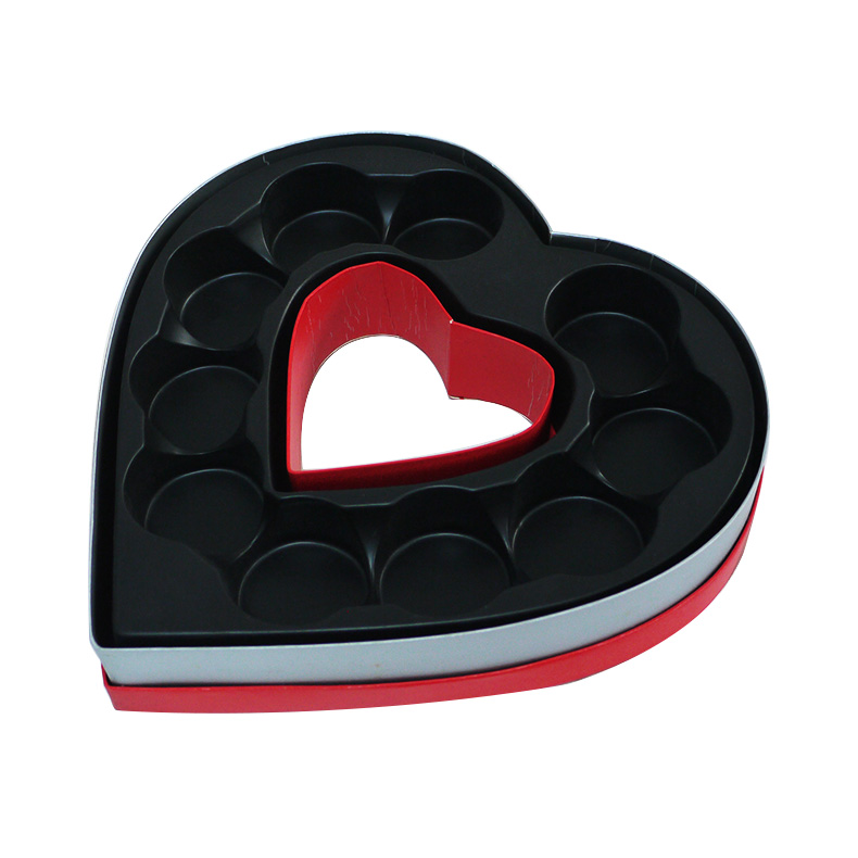 heart shape empty chocolate box supplier