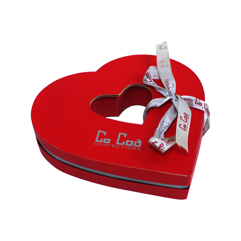 Heart Shape Empty Chocolate Box Wholesale Chocolate Box Kali