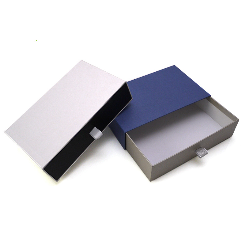 cardboard sliding gift drawer box packaging china