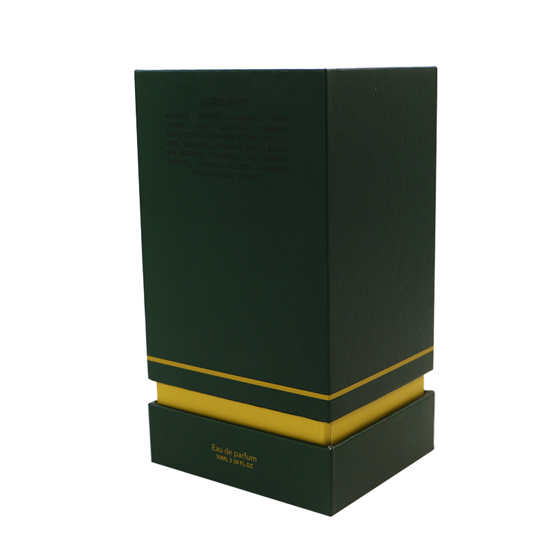 embossing and flocking perfume packaging box supplier