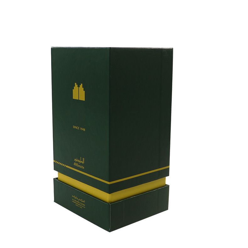 embossing and flocking perfume packaging box china