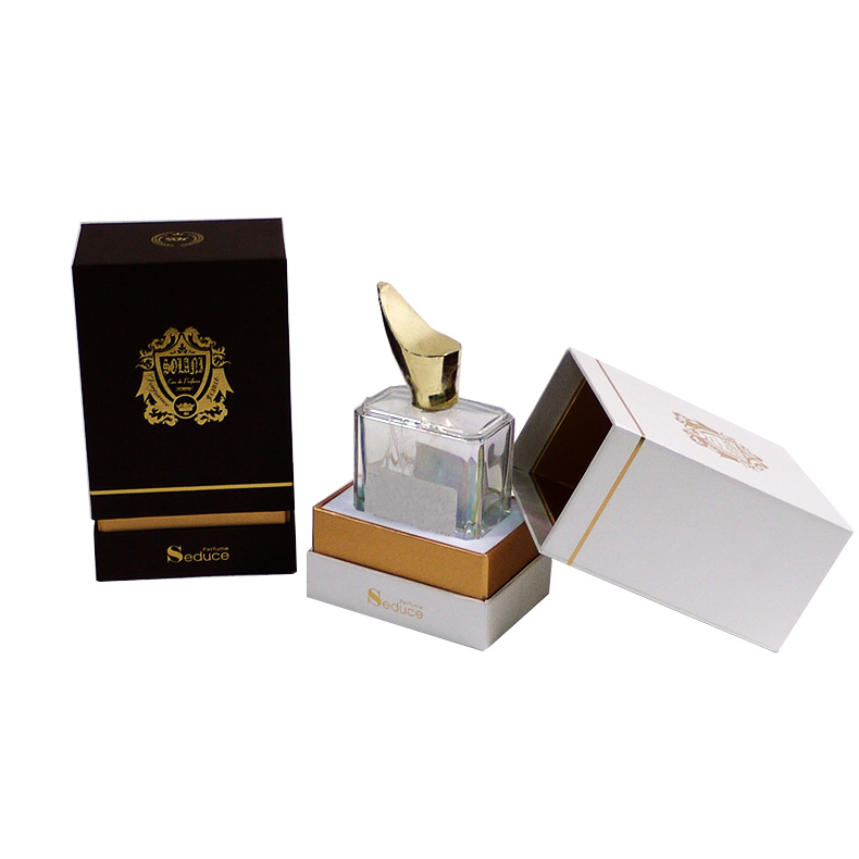 luxury paper perfume box with eva