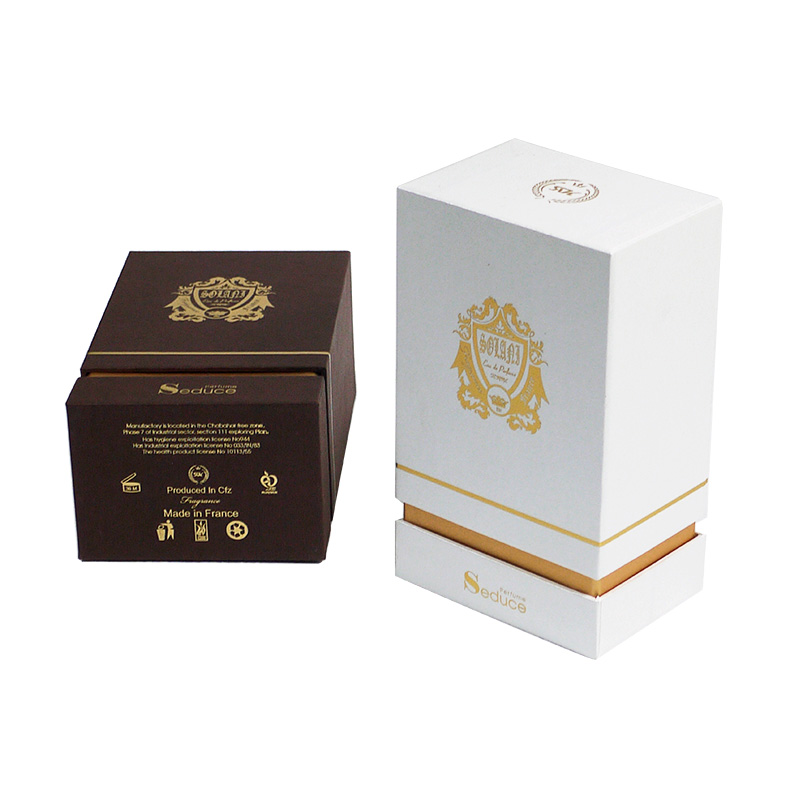 paper perfume box with eva distributor