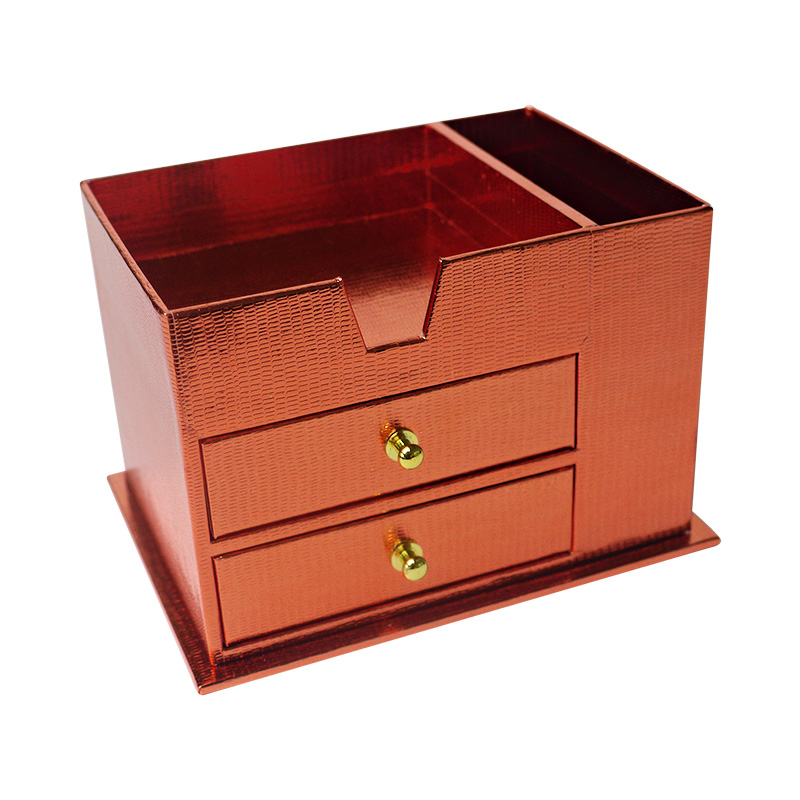 box with drawers front