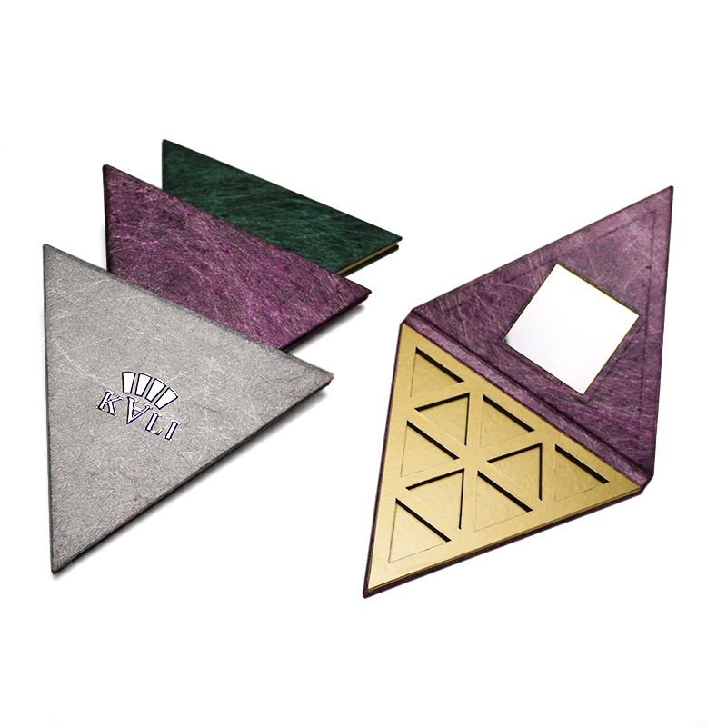 Custom Triangle Makeup Eyeshadow Packaging