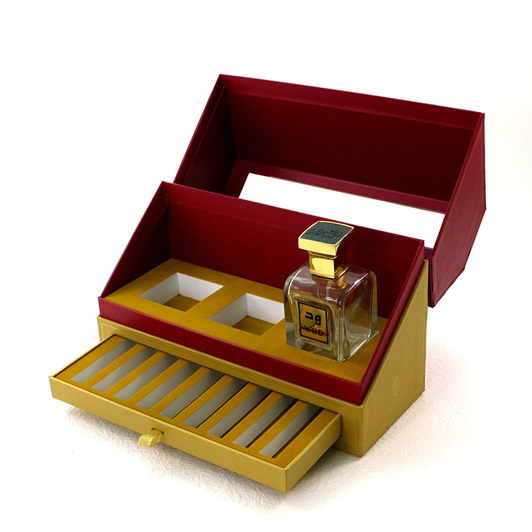 Sliding Out Perfume Oil Box