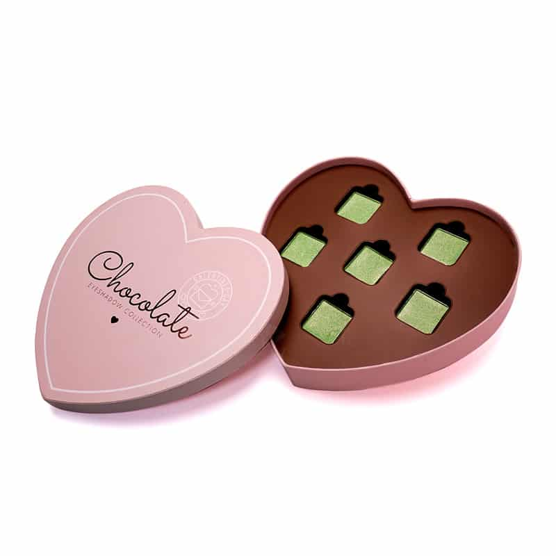 Chocolate Box Shaped Eyeshadow Makeup Palette