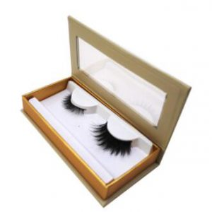 Window Eyelash Packaging Sleeve