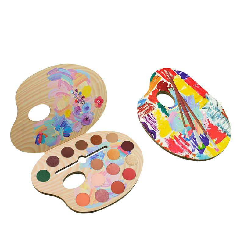 Private Label Eyeshadow Palette Packaging