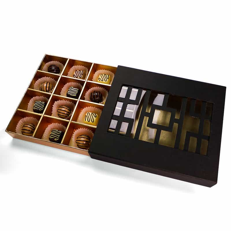 Chocolate Truffle Packaging Boxes