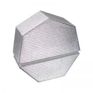 7 Sided Shape Glitter Gift Box