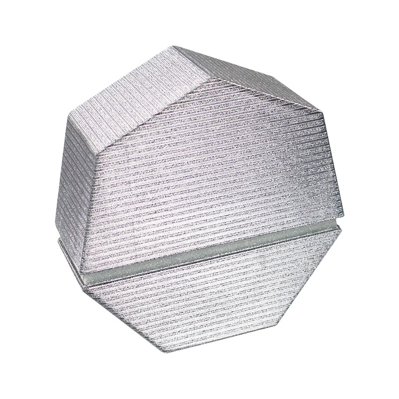 7 Sided Shape Glitter Gift Box