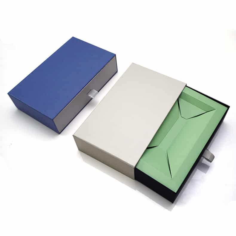 Cardboard Sliding Gift Drawer Box Packaging