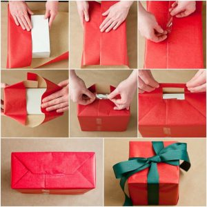 Easiest Christmas Gift Wrapping Guide 2020 – How To Wrap Gift Boxes, Make Gift Bag & DIY Gift Card Holder