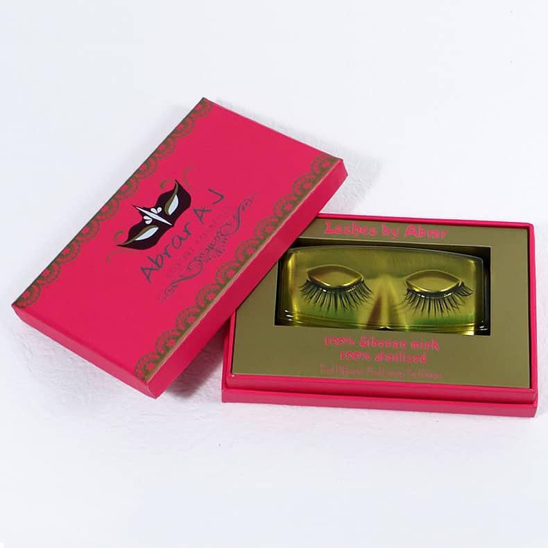 Pink Eyelash Box