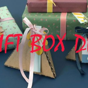 DIY Gift Boxes – How To Make Squad, Round, Heart-Shaped, Pillow, Star-Shaped & Pyramid Box?