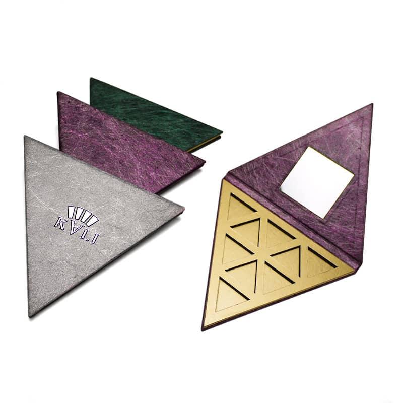 Custom Triangle Makeup Eyeshadow Packaging