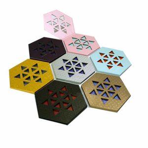 Unique Hexagonal Makeup Palettes