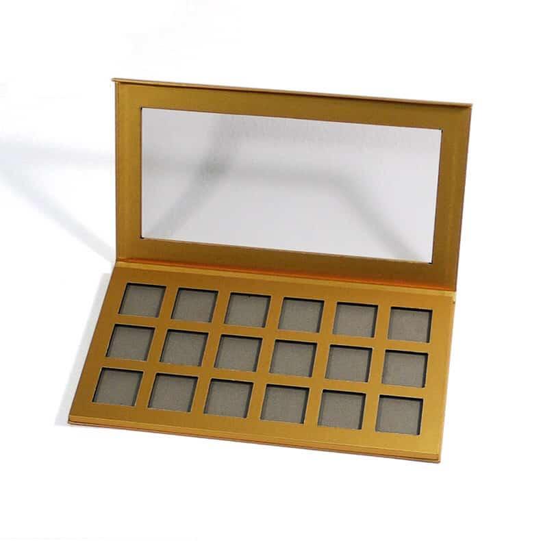 Metallic Gold Eyeshadow Palettes
