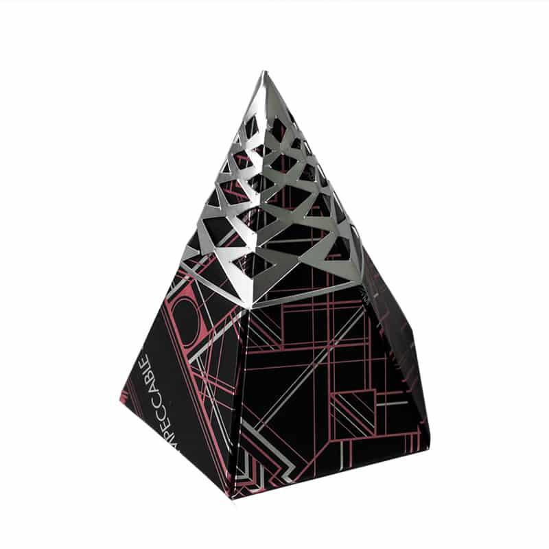 Luxury Paper Folding Gift Cone Box