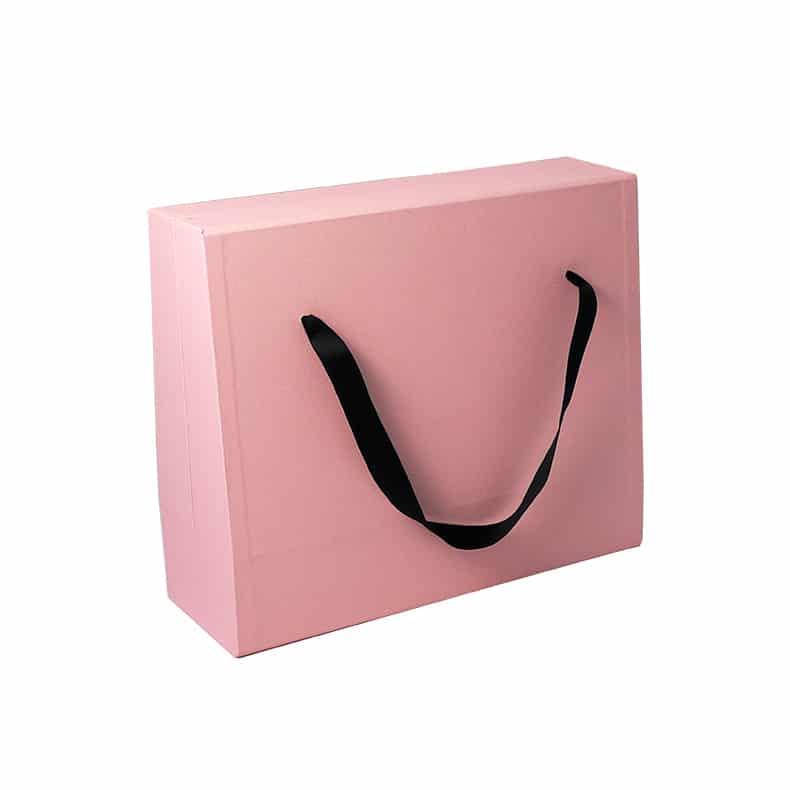 Rigid Cardboard Handle Box Bag