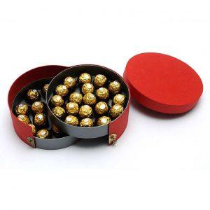 Two Layer Sliding Chocolate Box