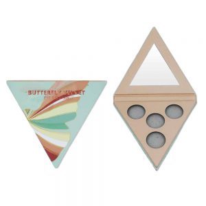 Empty Triangle Eyeshadow Palette