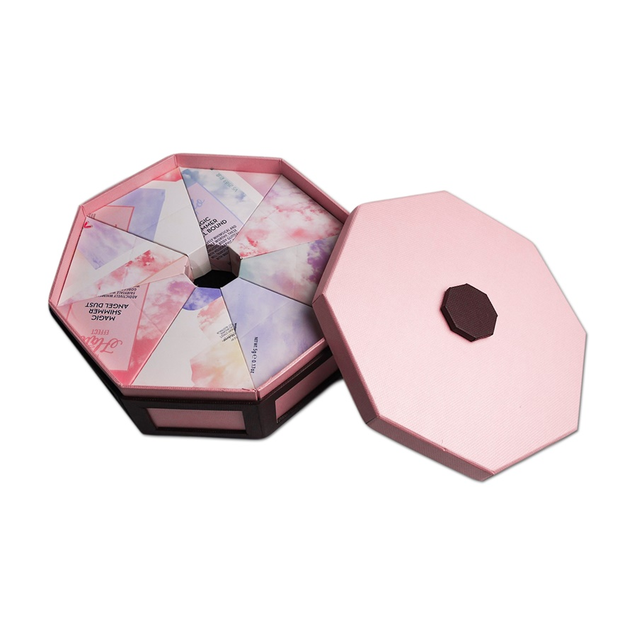 Octagonal Lid Bottom Chocolate Box