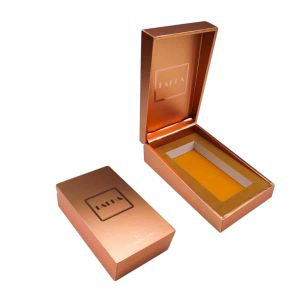 Rose Golden Perfume Packaging Box
