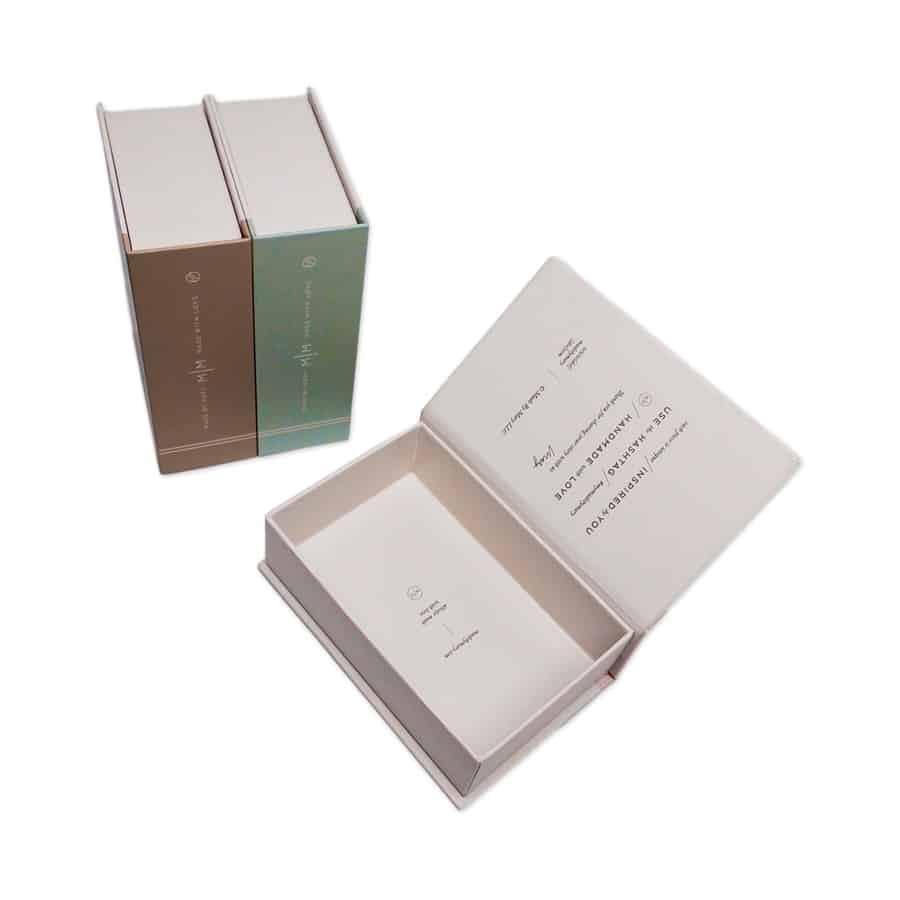 Book Shaped Cosmetic Paper Box