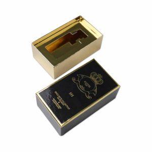 Golden Cologne Fragrance Paper Box