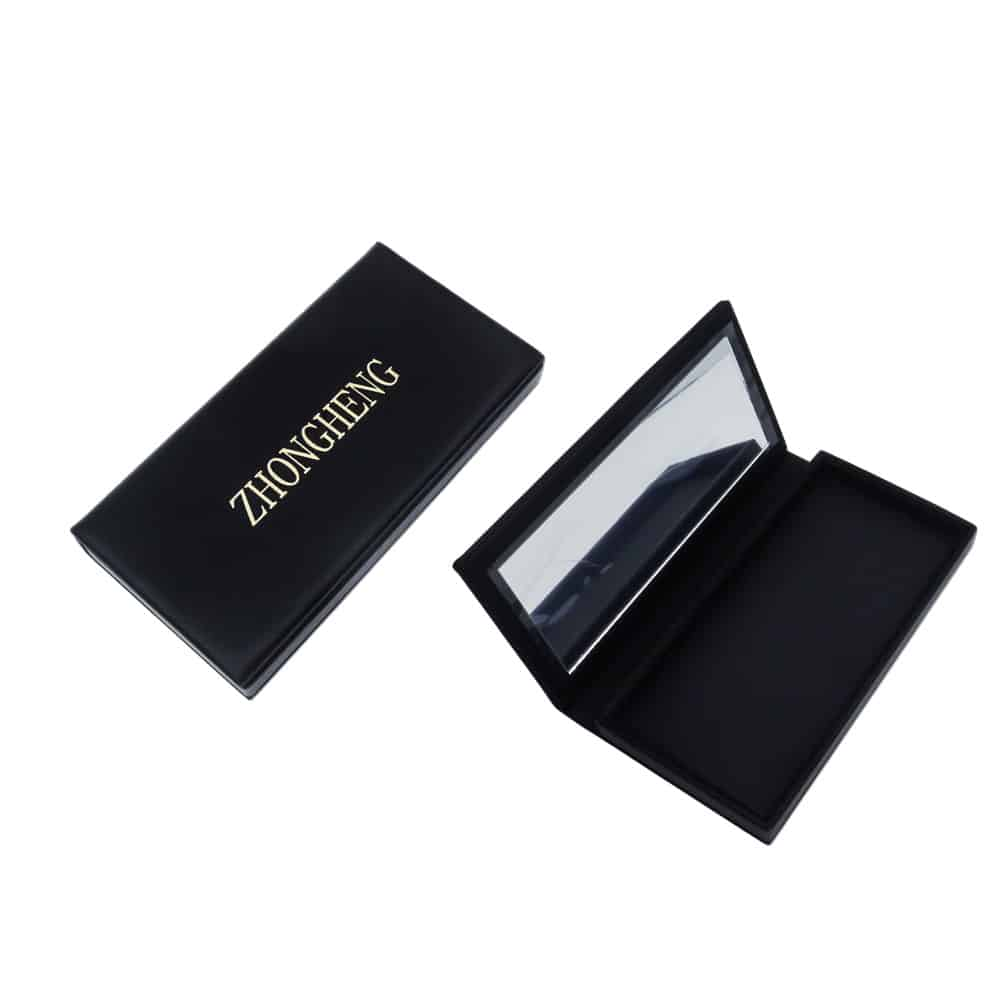 Leather Empty Magnetic Palette