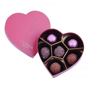 Heart Shaped Chocolate Bonbon Packaging Box