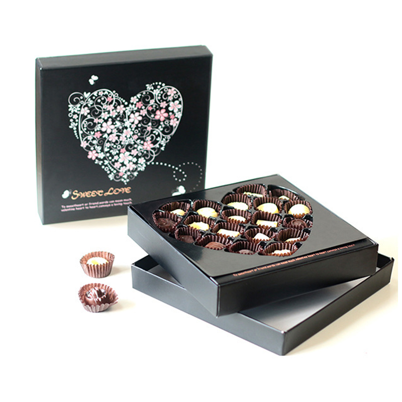 Chocolate Gift Box With Divider