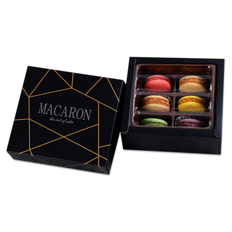 Macaron Packaging Box with Blister Tray
