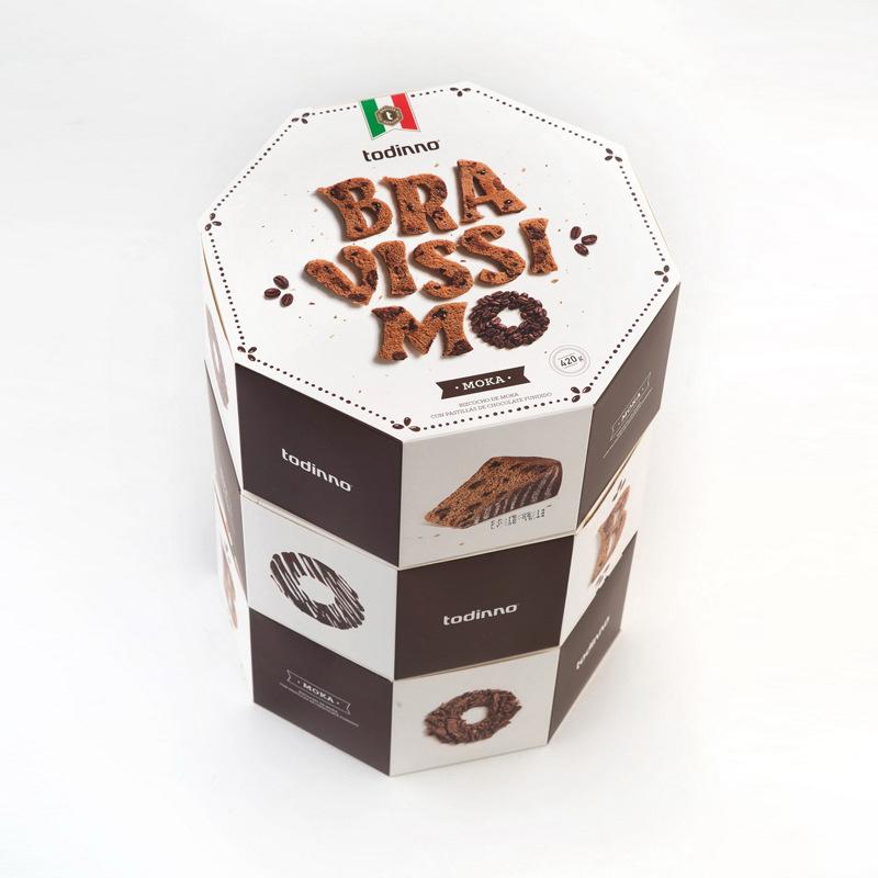 Hexagon Bread Biscuit Packaging Box