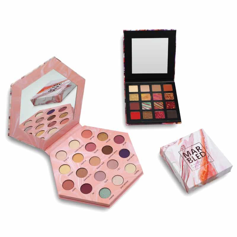 Custom Empty Box Packaging For Eyeshadow