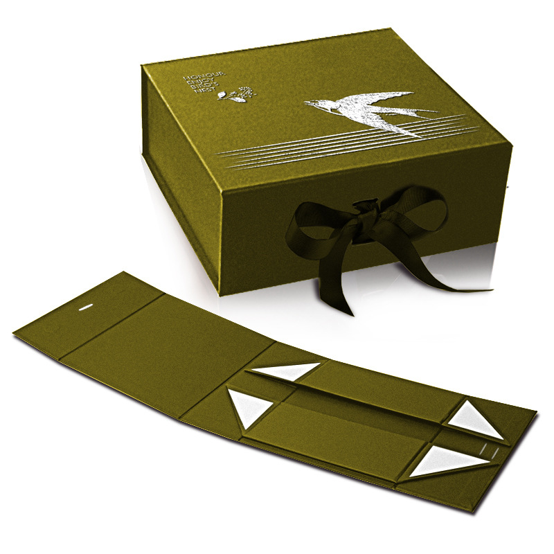Fold Flat Pack Empty Box