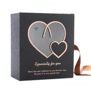 Heart Shape Window Foldable Packaging