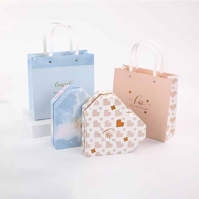 250 Gram Handle Paper Bag