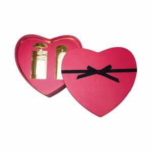 Luxury Heart Paper Box Cosmetic Packaging